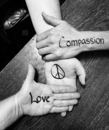 hands, peace, love, compassion